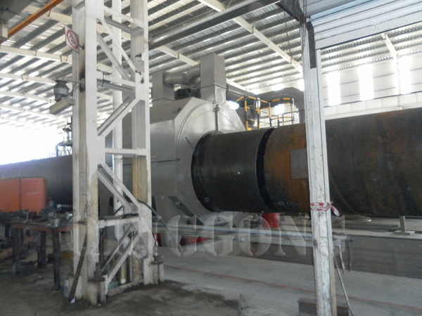 External And Internal Pipe Blasting Equipment Structure